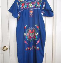 写实花朵衣领连衣裙