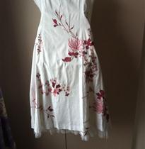 写实菊花吊带裙