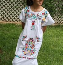 写实花朵民族长袍