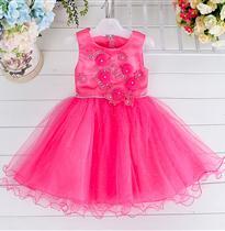 立体花朵公主裙