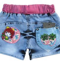 草莓牛仔裤袋