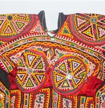 抽象民族衣
