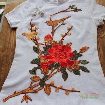 鸟 花朵 中国风